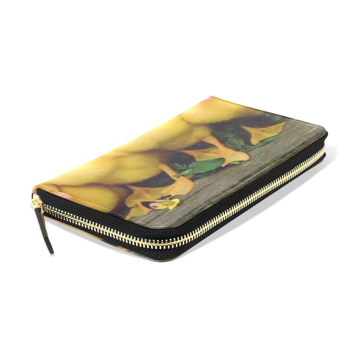 Womens Wallets Dragon Leather Passport Wallet Change Purse Zip Handbags