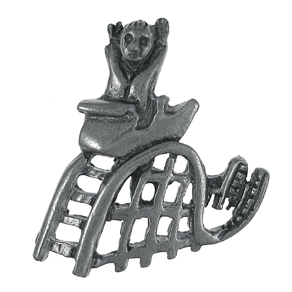 Jim Clift Design Roller Coaster Lapel Pin - 100 Count
