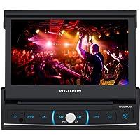 DVD Player Automotivo, Pósitron, SP6520, DVD Automotivo, Preto/Cromo