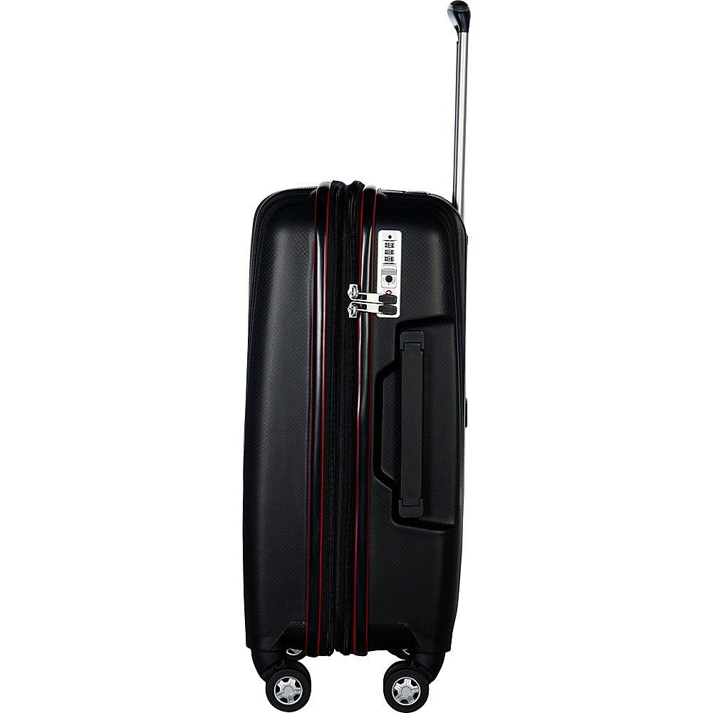 Gabbiano Gallo 3 Piece Expandable Hardside Spinner Luggage Set Midnight Blue