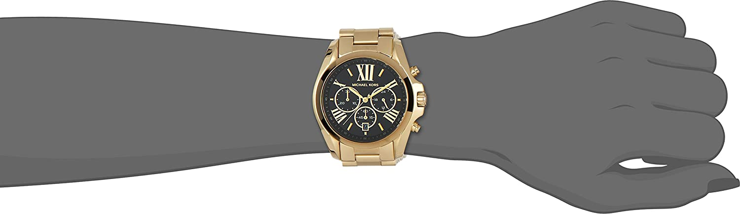 617152c2a Amazon.com: Michael Kors MK5739 Ladies Blair Gold Plated Chronograph Watch: Michael  Kors: Watches