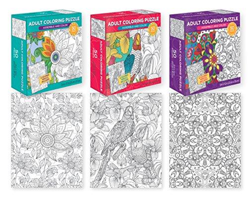 Piece Coloring Puzzles Puzzles Assamble