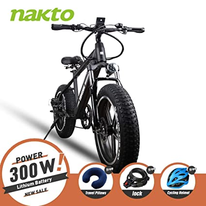 Electric Bicycle For Sale >> Amazon Com Nakto 350w Electric Bicycle Mountain E Bike