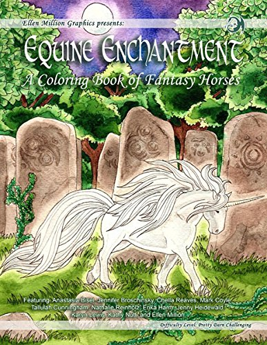Equine Enchantment; A Coloring Book of Fantasy Horses