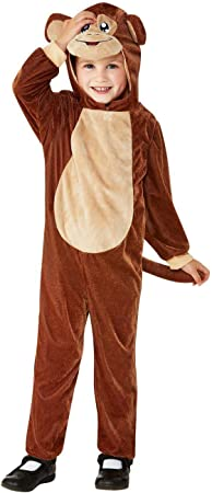 Smiffys 47706T1 - Disfraz de mono para niño, unisex: Amazon.es ...