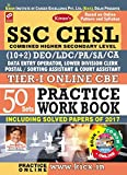 Kiran's SSC CHSL (10+2) Tier - I Online CBE Practice Work Book with CD, Including Solved papers of 2017: 1961
