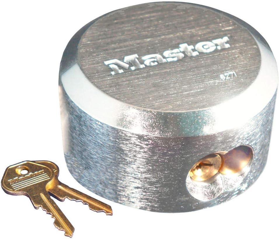 Padlock Keyed Alike - 1 Pack Master Lock Oculta, grillete cerraduras # 6271nka Bump Prueba: Amazon.es: Coche y moto