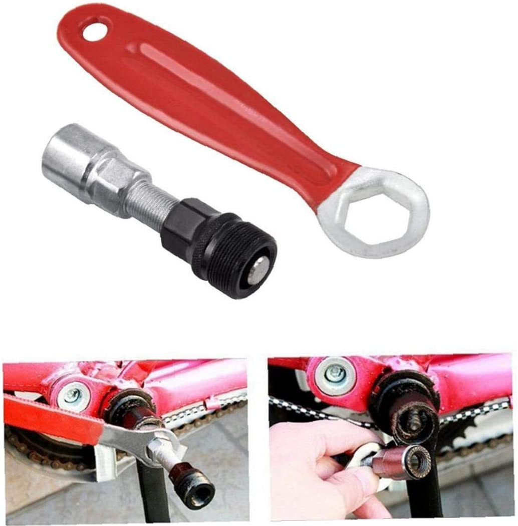 Cycling Spanner Repair Bike Bottom Bracket Remover Crank Extractor Puller Tools