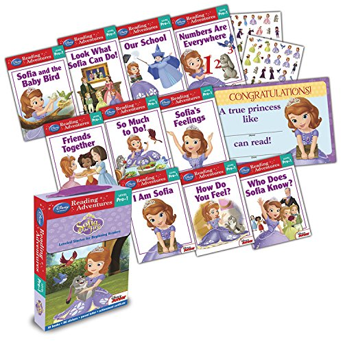 Reading Adventures Sofia the First Level Pre-1 Boxed Set (Sofia The First One Of The Princes)