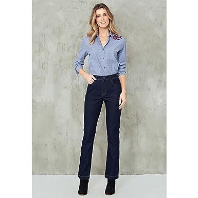 059ebb19e Calça Jeans Reta Amaciada AZUL ESCURO/36: Amazon.com.br: Amazon Moda