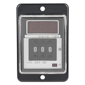 Digital LCD Power on Time Delay Relay Time-Limit Relay ASY ...