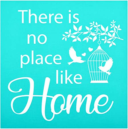 Phrase Sign Pattern for DIY Home Decor YeulionCraft DIY Self-Adhesive Silk Screen Printing Stencil Reusable Stencils Pillow Fabric Painting on Wood T-Shirt Cat