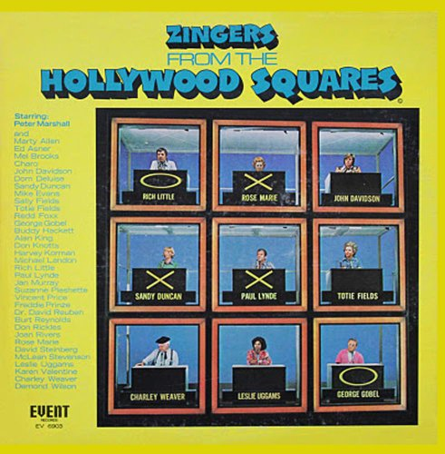 Zingers from the Hollywood Squares