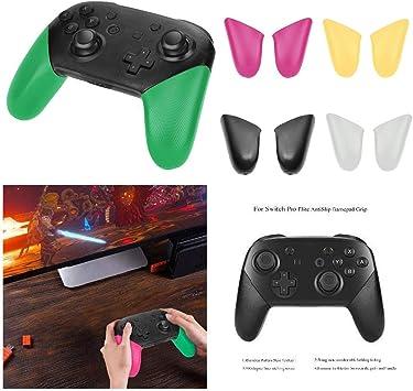 GZ HaiQianXin 1 par de Mango Antideslizante Grip Shell Recorte preciso Resistente al Desgaste para NS Nintendo Switch Pro Controller (Color : Yellow) : Amazon.es: Juguetes y juegos
