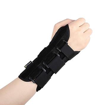 Disuppo Muñequera ajustable para ejercicio deportivo, dolores de muñeca, esguinces, estrés repetitivo,
