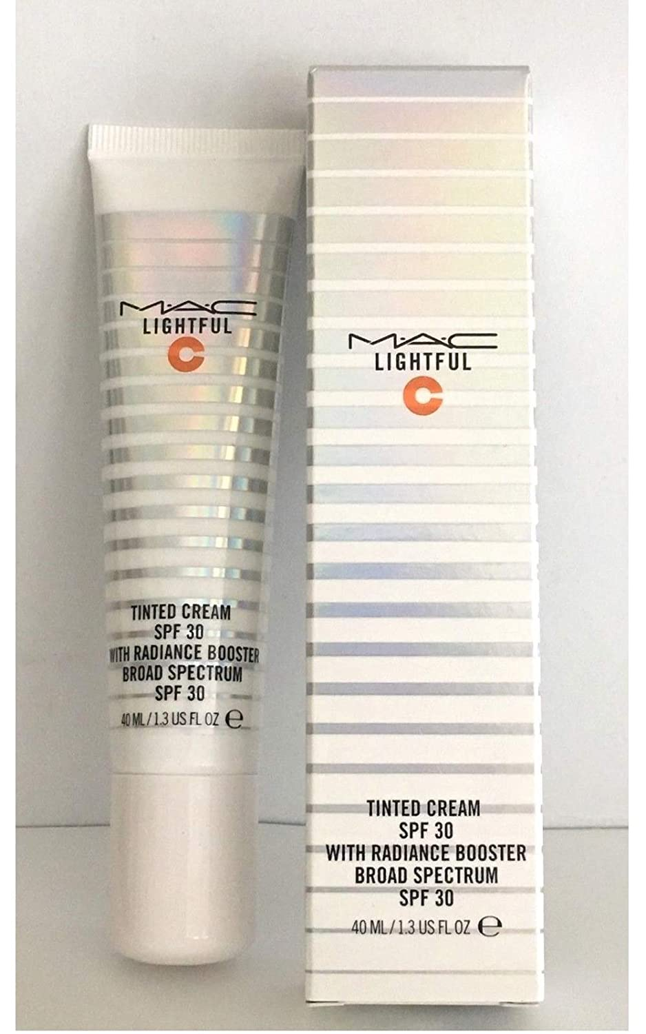 M.A.C Lightful C + Coral Grass Tinted Cream SPF 30 with Radiance Booster 1.4 oz - Light Plus