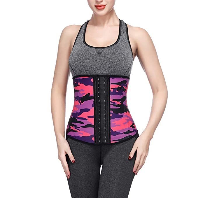 935ddd80047 Amazon.com  Waist Trainer Corset Shapewear Tummy Control for Women Weight  Loss Sport Afterso  Clothing