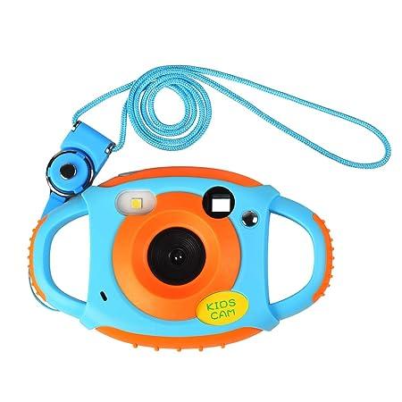 Funkprofi Kinder Kamera Kid Cam Mini Digital Camera Camcorder 5 Megapixel 1,77 Zoll Display Geschenk und Spielzeug für Kinder