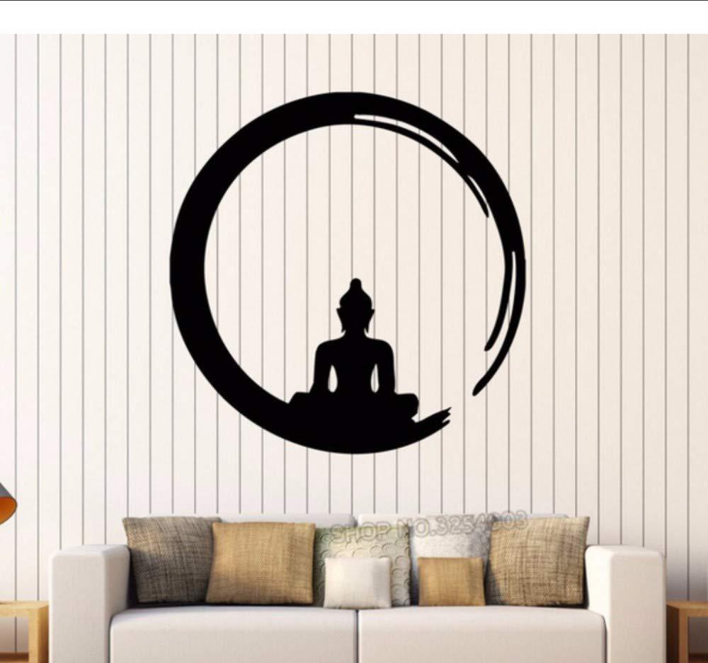 Lsfhb 30X30 Cm Buda Vinilo Pegatinas De Pared Meditación Budismo ...