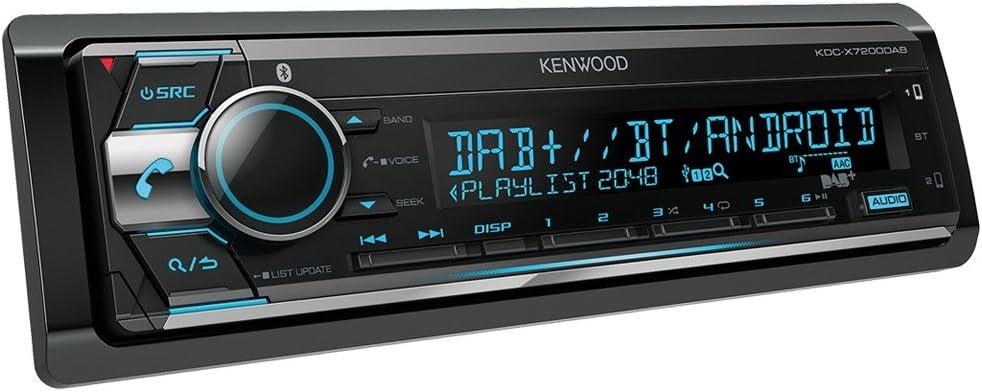 KENWOOD KDC-X7200DAB Autorradio CD, Bluetooth, NFC, USB, Dab+