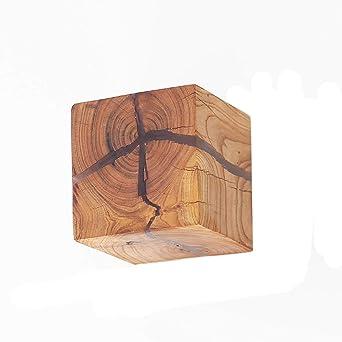 Wandleuchte Holz