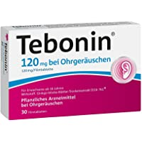 Tebonin bei Ohrgeräuschen 120 mg Tabletten, 30 St.