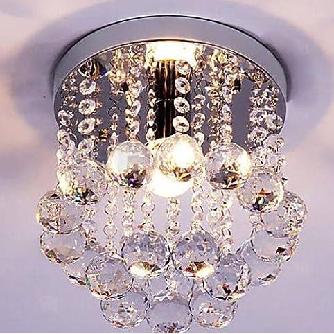 Mini Style 1-light Flush Mount Crystal Chandelier - - Amazon.com