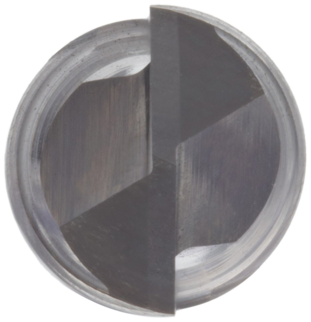 Uncoated Bright 2 Flutes 0.3125 Shank Diameter Melin Tool AMG-DP Carbide Drill Mill 30 Deg Point Angle Finish 2.5 Overall Length 0.3125 Cutting Diameter