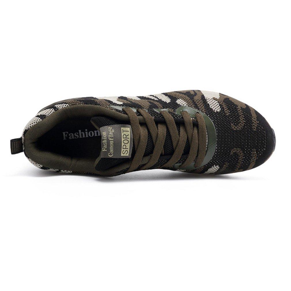 Unisex-Erwachsene Sportschuhe Mesh Atmungsaktiv Camouflage Leichte Dämpfung Dämpfung Dämpfung Outdoor Couple Turnschuhe a4fff2