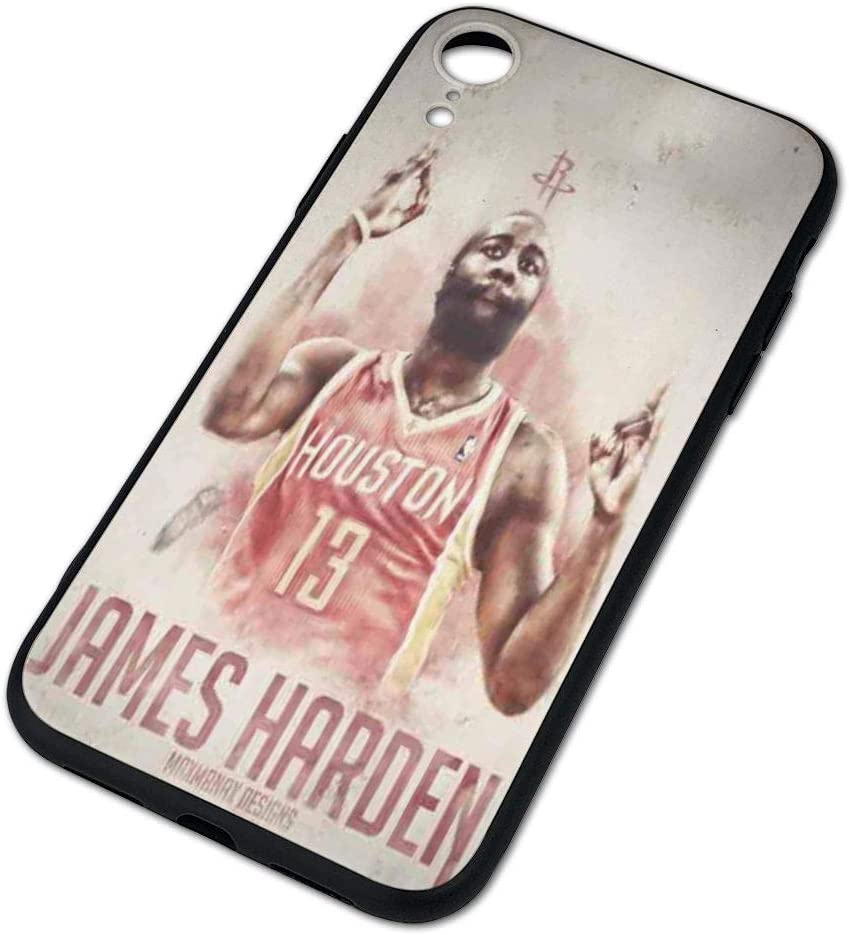Basketball Star Fashion Protective Shockproof Anti-Scratch Soft Bumper Case for iPhone XR Forever Collectibles iPhone XR Case