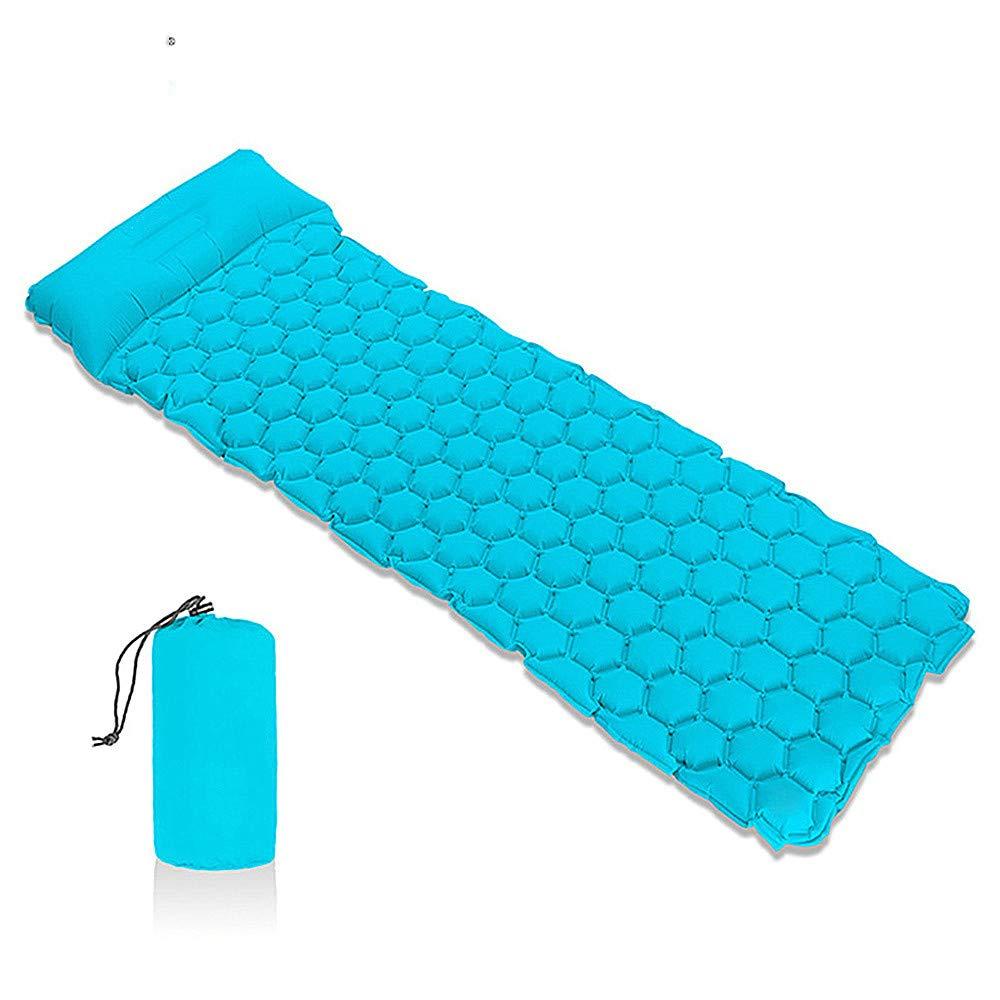 Ffion Camping-Schlaf Polster, Aufblasbare Campingmatte Komfortable Leichte Luftzellen Design Outdoor-Wander Matratze