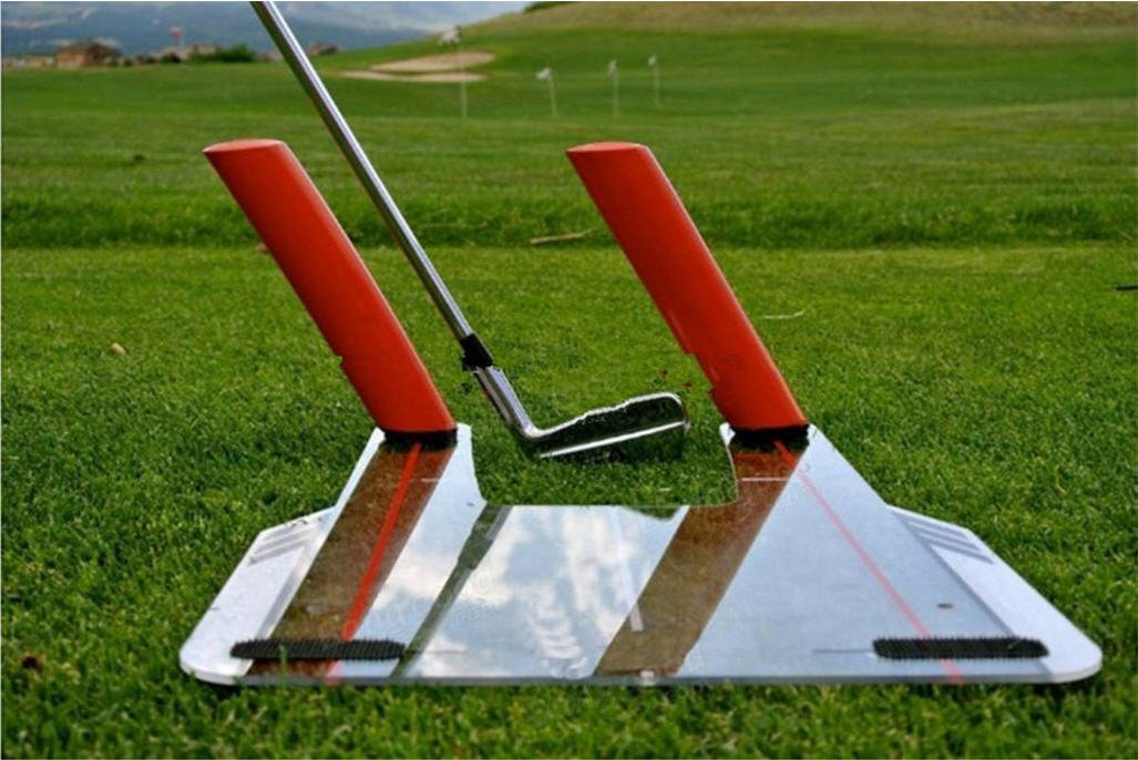 Resource Academy Golf Swing Training Set - Improve Swing Path - Baseboard Plus 5 Rods by Resource Academy (Image #5)