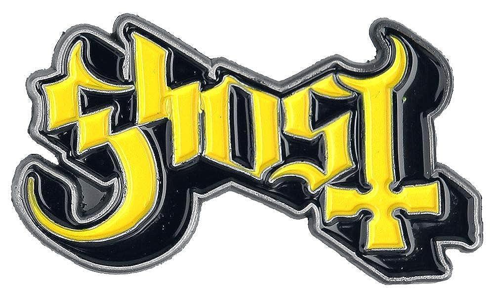 Ghost Logo Pin's jaune/noir