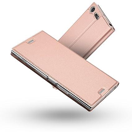 Amazon.com: Xperia XZ Premium Case,Radoo Premium PU Leather ...