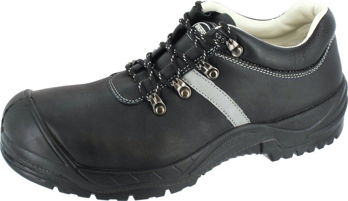 Sicherheits-Halbschuh Sicherheits-Schuh Arbeitsschuh BARI1 - Weite 12 - DIN EN ISO 20345:2011 - S3 SRA - schwarz...