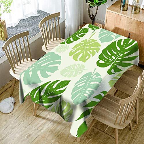 C 140140cm Speedmar Nappe Lavable Idyllic Vert Frais végétal Nappe Salon voitureré Table café Table Restaurant Serviette Tissu, C, 140  140cm