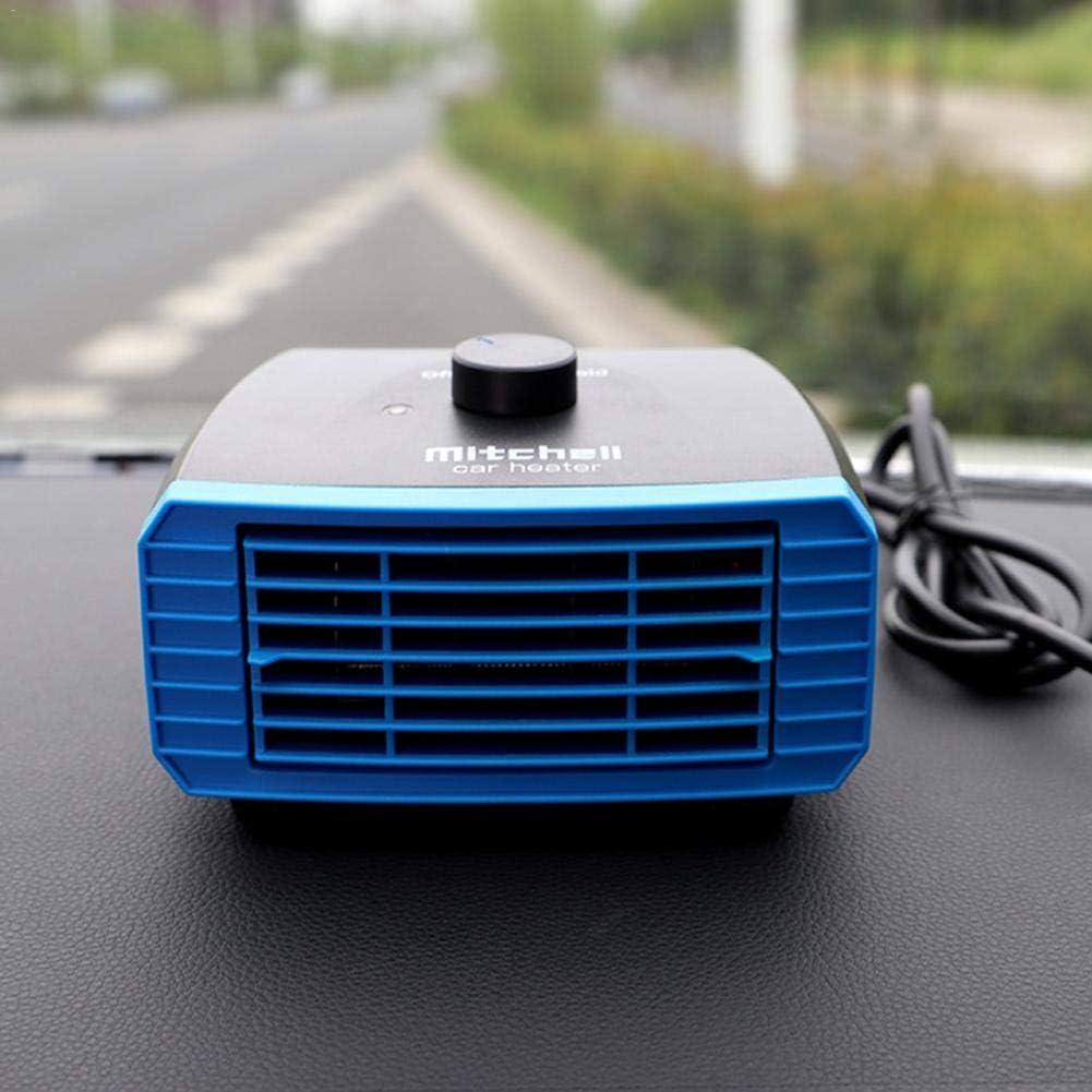 Elementral Calefactor Coche, 12v / 24v Calefacción Eléctrica Calefacción por Viento Calefacción De Automóviles Camioneta Camioneta Interior Normal Improved