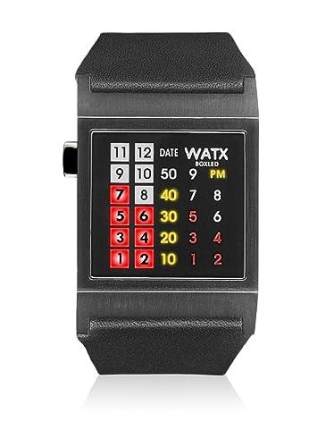 Watx Reloj analogico para Hombre de Cuarzo con Correa en Piel RWA0854: Amazon.es: Relojes