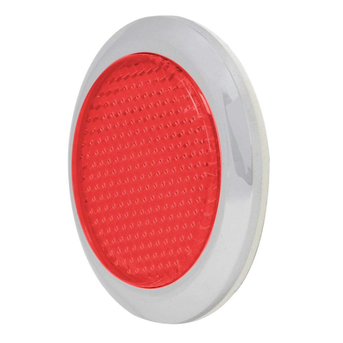 "RVs and Buses Grand General 80829 Round Red 2-3//8/"" Reflector with Center Mounting Hole for Trucks 1 Pack Towing Trailers"