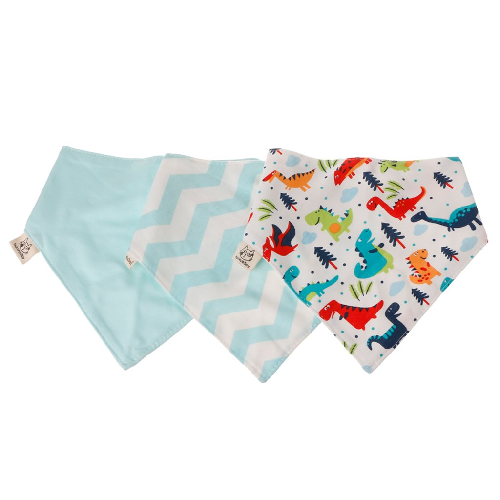 3 Pcs//set Baby Bibs Infant Cotton Bandana Bibs Babador Saliva Kids Towel Scarf