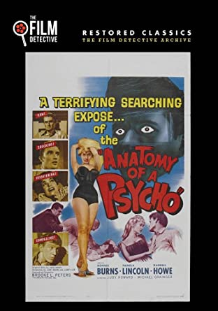 Amazon.com: Anatomy of a Psycho (The Film Detective Restored Version ...