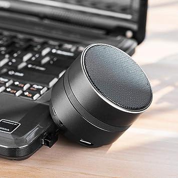 Enjoyall Visión Nocturna sin Agujeros Cámara de Video con definición 4K HD Cámara WiFi con Bluetooth