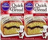 Pillsbury Cinnamon Swirl Quick Bread Mix, 17.4 oz, 2 pk