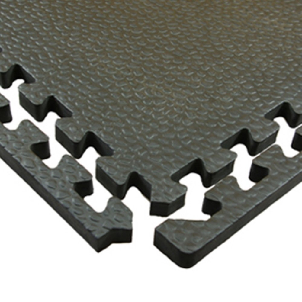 Greatmats Portable Interlocking Pebble Top Horse Stall Mats 15 Pack by Greatmats.com (Image #5)