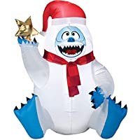 Deals on Christmas Inflatable Bumble, 3-Ft.