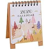 Amazon.com: Calendario de mesa de caricatura de Libobobo ...