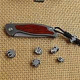 Titanium Lanyard Bead Paracord Beads for Knife