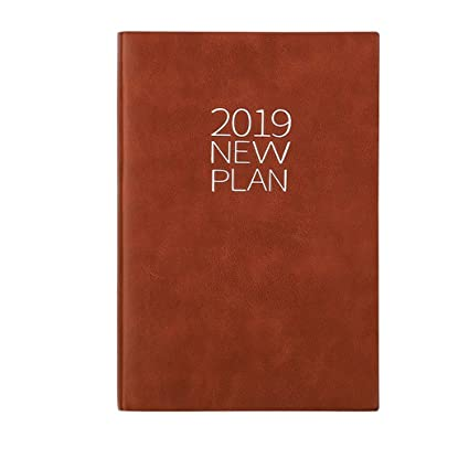 BMGHS Cuaderno Planificador Semana Vista Agenda 2019 ...