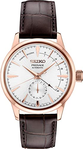 SEIKO PRESAGE Automatic Brown Gradient Cocktail Time Manhattan