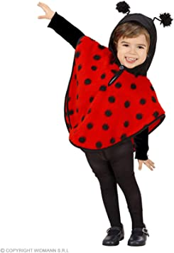 WIDMANN Widman - Disfraz de mariquita para niña, talla 0-3 años ...